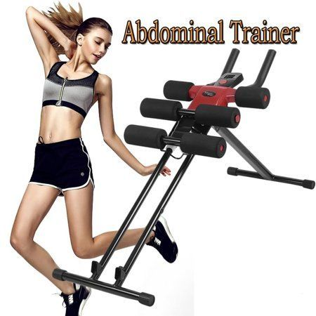 Ab Machine Exercise Equipment Abdominal Workout Equipment For Core Ab Trainer Fitness Equipment Home Gym Ab E Abs Workout Gym Abs Workout Abdominal Exercises
