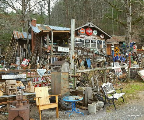Smith Station Antiques in Cherry Log GA for things to do in Blue Ridge GA by Sadie Seasongoods Geek Furniture, Furniture Stores, Pallet Furniture, Antique Furniture, Furniture Ideas, Outdoor Furniture, Room Layout Planner, Places To Travel, Places To See