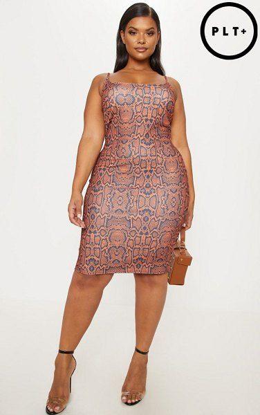 Pretty Little Thing Plus Size Dress
