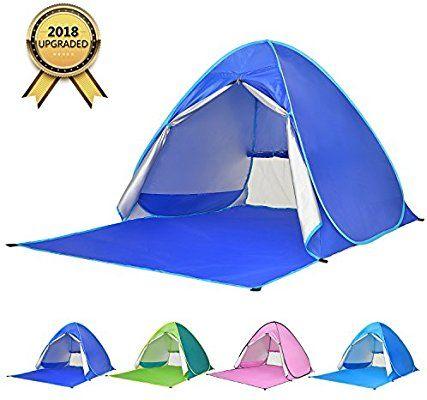 Lightweight Instant Pop Up Beach Tent