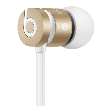 Earbuds with Mic : urBeats HeadPhones | Beats by Dre (£76) ❤ liked on Polyvore featuring accessories, headphones, electronics, technology and tech