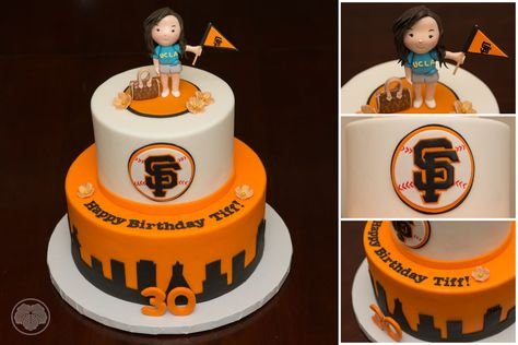 30th Birthday San Francisco Giants Cake