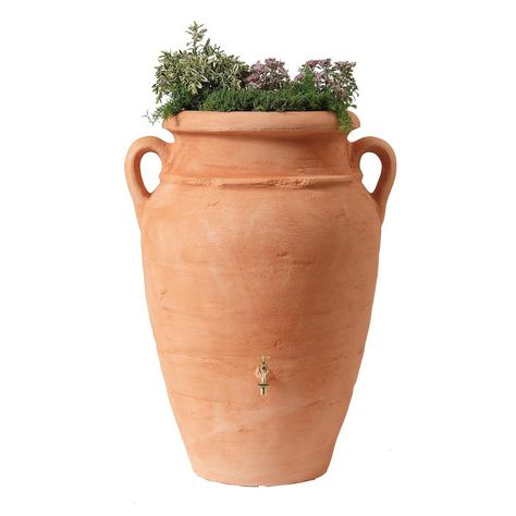 Fab Com Antique Amphore Rain Barrel Bac De Recuperation