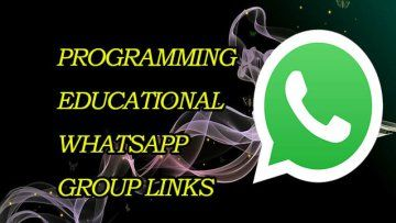 Latest Python WhatsApp Group Links 2020