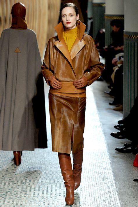 Hermès Fall 2011 Ready-to-Wear Fashion Show - Karmen Pedaru (IMG)