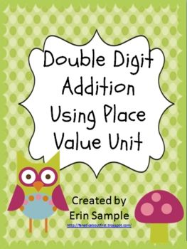 This unit aligns with the new Common Core standards for first grade.