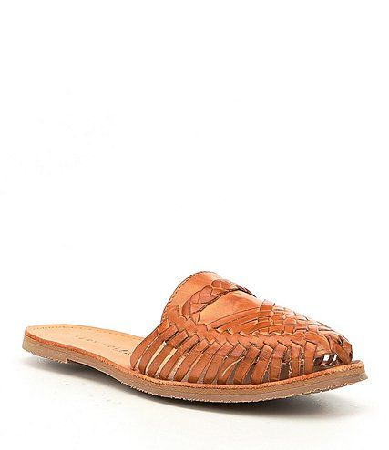 Shop for Volatile Tulum Woven Huarache Mules at