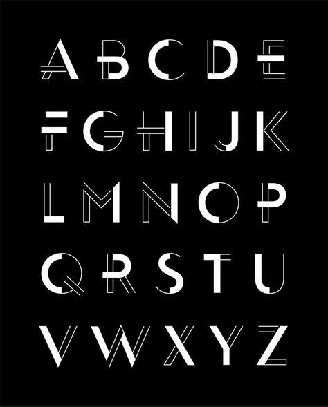 Fassade Display Typeface Family on Behance letras con poderes más claras que otras