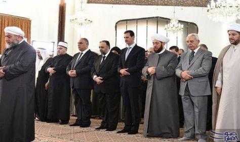 الطائرات الحربية تقصف مناطق عدة في منطقة أدى الرئيس السوري بشار