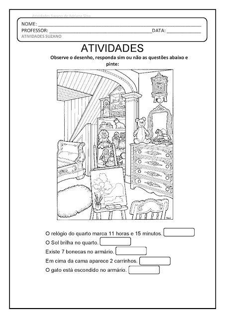 Leitura De Imagens Em Pdf Atividades De Arte Atividades