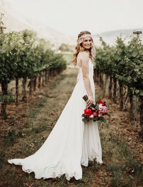 Intimate Bohemian Vineyard Wedding In Colorado Heiraten Hochzeitsplanung Und Hochzeit Planen