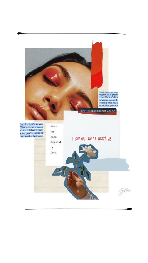 Image via Pinterest // It's getting to that point where we have so many inspiration posts that I had to look back through them to make sure I didn't already post about collages. Honestly I'm surprised that I haven't already talked about how much I love this medium. #collages #collagesinspiration #collageideas #collageart