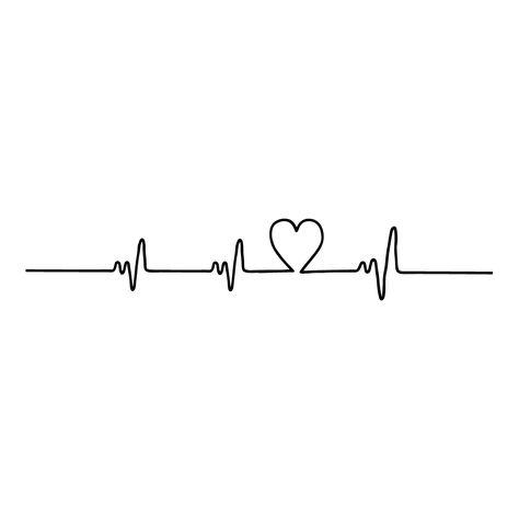 Heartbeats - temp tattoos by Habitatt