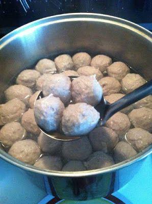 Bakso Sapi Kenyal Lembut Walau Memakai Daging Beku Frozen Daging Beku Ide Makanan Resep Makanan Asia