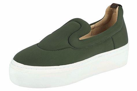 Heine Slipper mit Plateau_Sohle günstig kaufen | Sneaker