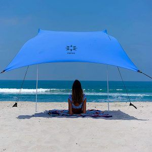 Top 10 Best Beach Canopies 2020 Guides Reviews Beach Canopy Beach Tent Beach Shade