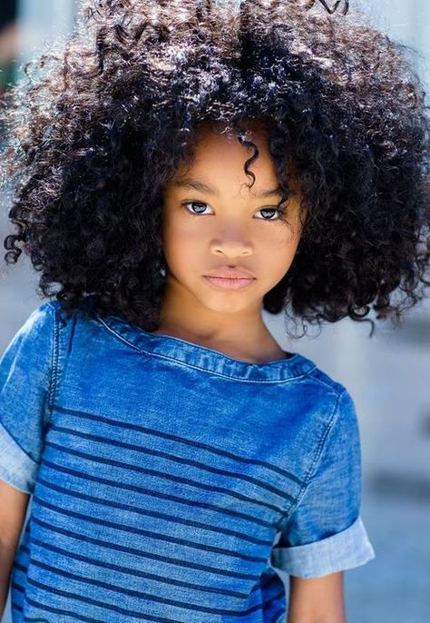 (curlskinksandcoils Source:. Omg her hair is gorgeous! My future daughter's hair will be like this!