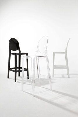 Chaise De Bar One More Please H 65cm Modele D Exposition Kartell En 2020 Chaise Fauteuil Chaise Bar Chaise
