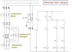 Schema Electrique Schema De Cablage Un Moteur Electrique Demarrage Etoile Triangle Moteur Electrique Schema De Cablage Electrique Schema Electrique
