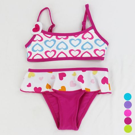 d248ffcbbbc76 Купить товар Для малышей Купальники для малышек Плавание костюм бикини  Купальник Двойка мультфильм костюм танкини,