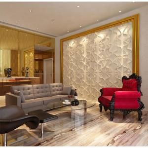 Kingsman Hardware 19 6 In X 19 6 In X 1 In Off White Plant Fiber Gesture Design Glue On Wainscot Wall Panels 10 Pack 3d Gest Wall Paneling Home Cool Walls