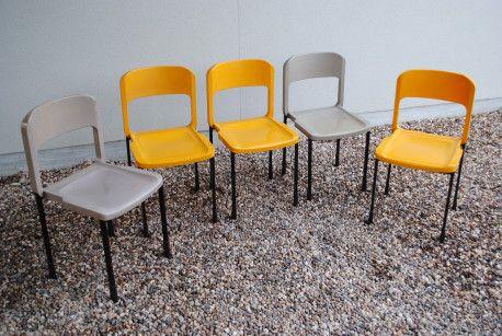 chaises grosfillex vintage vintage