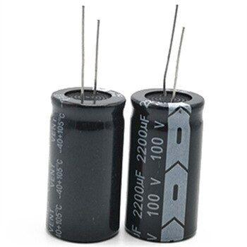 9pcs Lot 100v 2200uf 22 40 20 Radial Aluminum Electrolytic Capacitor 2200000nf