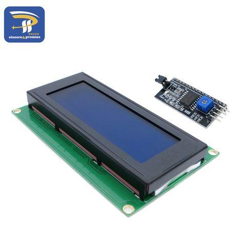2004 20x4 Hd44780 2004a Schermata Blu Per Arduino Lcd