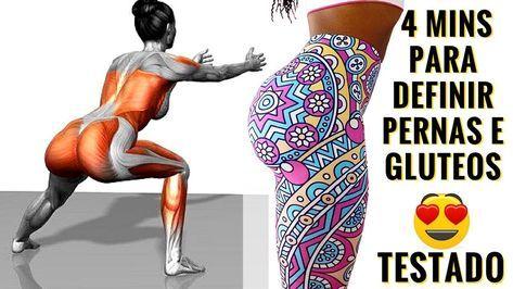 como definir as pernas rapido na academia