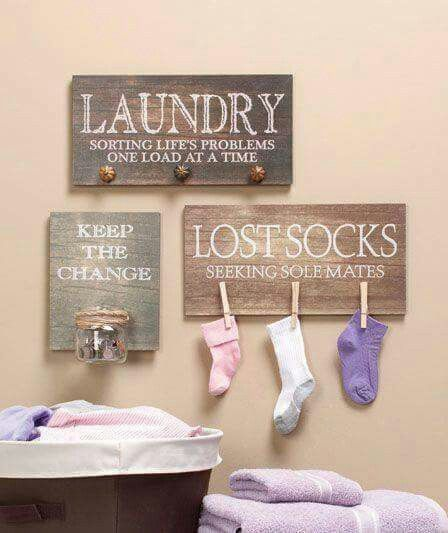 Rustic And Funny DIY Able Laundry Rooms Signs Love