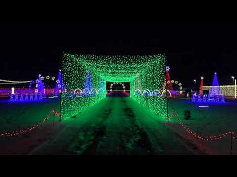 Federal Heights Colo A Mile Long Christmas Light Display Will Open Friday At W In 2020 Christmas Light Show Christmas Light Displays Outdoor Christmas Decorations