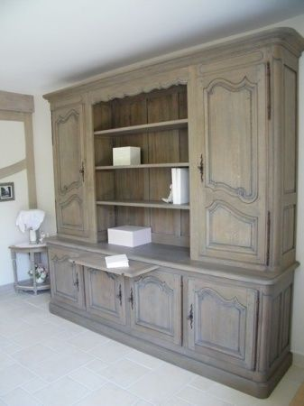 Relooking Meuble Bibliotheque Chene Une Creation Personnalisee Le Havre Relooking Meuble Renovation Meuble Relooker Meuble