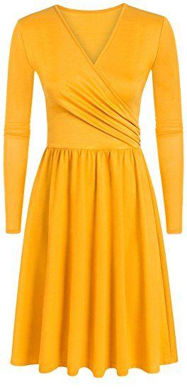 22+ Yellow long sleeve dress information
