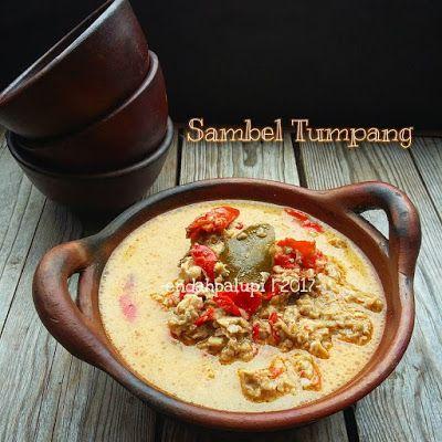 Resep Sambel Tumpang By Endahpalupid Makan Siang Makanan Jalanan Resep Masakan Indonesia