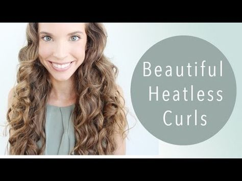 HEATLESS CURLS! (With flexi rods)