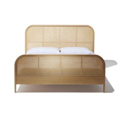Cane King Bed Bedroom Furniture Beds King Beds Bed