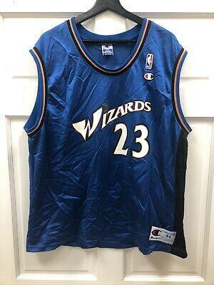 Vintage Michael Jordan 23 Washington Wizards Nba Champion Jersey Size 44 L Ebay Michael Jordan Nba Champions Washington Wizards