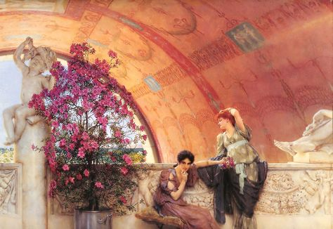 The-work-of-Sir-Alma-Tadema-or-the-Victorian-Classicism