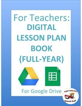 Make A Digital Plan With Planbook Com Teacher Planning Ladybug Teacher Files Teacher Files