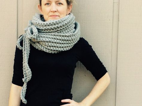 936c9875cd3 List of Pinterest chuky yarn scarf crochet pattern pictures ...