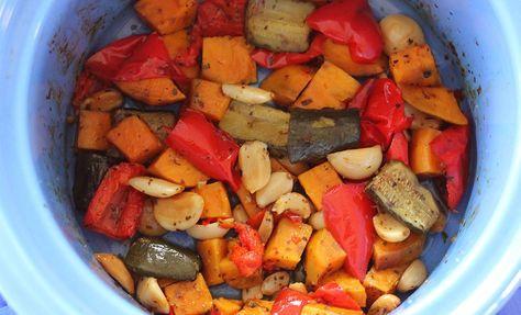 slow cooker vegetables