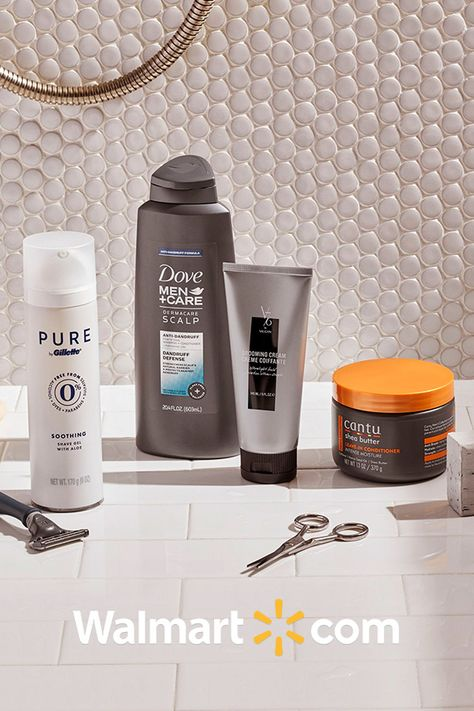 Get your grooming staples from hair care to beard care at Walmart.com