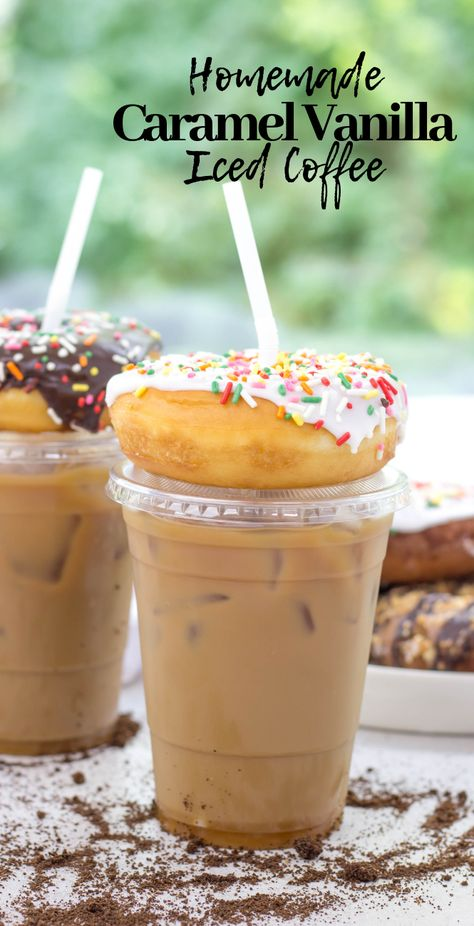 French Vanilla Iced Coffee Recipe