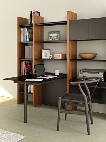 Modular Entertainment Wall Units, Shelving Units, and Office
