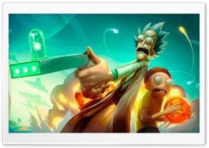 Rick And Morty Fan Art Hd Wide Wallpaper For 4k Uhd Widescreen Desktop Smartphone Rick And Morty Cartoon Wallpaper Rick And Morty Characters