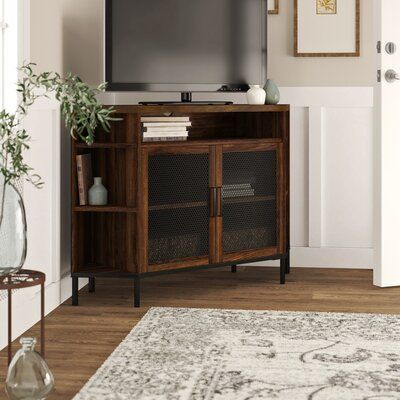 Pin On First Place Together Living Room Corner Corner Tv Stand White Living Room Decor