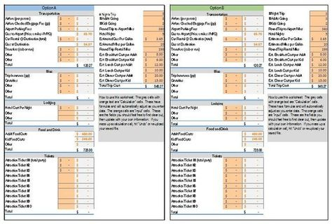 Excel Workbook Travel Planner Forms 3 Sheets Hotel Comparison Etsy Travel Planner Flight Comparison Hotel Comparison