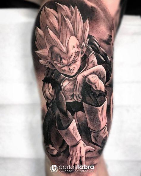 Tatuagens do anime Dragon Ball