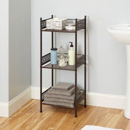Home Bathroom Collections Floor Shelf Shelves
