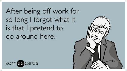 a220a1103e6d18666c98ca36982a0ff8 funy quotes a quotes the 6 phases of going back to work after a holiday tech girl,First Day Back At Work Meme